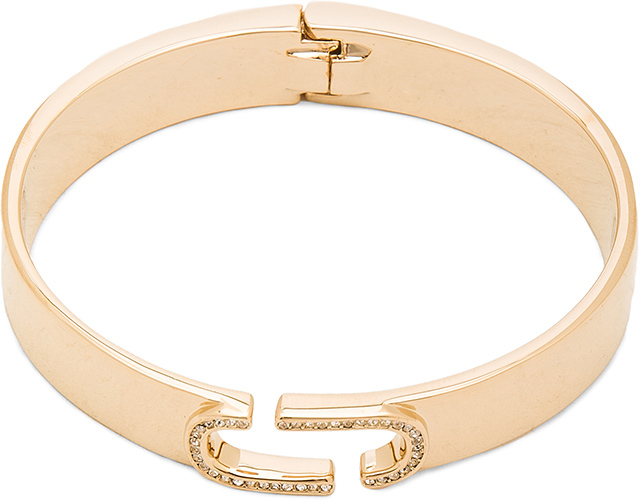 Marc Jacobs Marc Jacobs Icon Crystal Hinge Cuff