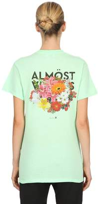Big Bouquet Cotton Jersey T-Shirt