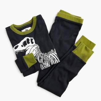 J.Crew Kids' pajama set in T. rex