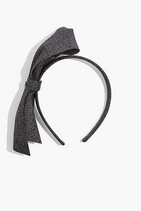 Country Road Glitter Bow Headband