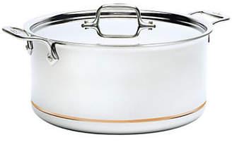 All-Clad Quart Stock Pot with Lid Copper Core