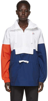 Reebok Classics White Colorblock Anorak Jacket