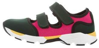 Marni Neoprene Low-Top Sneakers