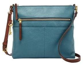 Fossil Large Fiona Leather Crossbody Bag