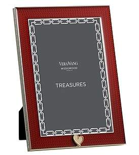 "Wedgwood Vera Wang With Love Treasures Frame Red 4""X6"""