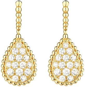 Boucheron Yellow Gold and Diamond Serpent Bohème Drop Earrings