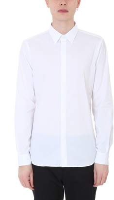 Mauro Grifoni White Cotton Shirt