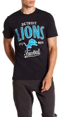Junk Food Clothing Detroit Lions Kick Off Crew Tee