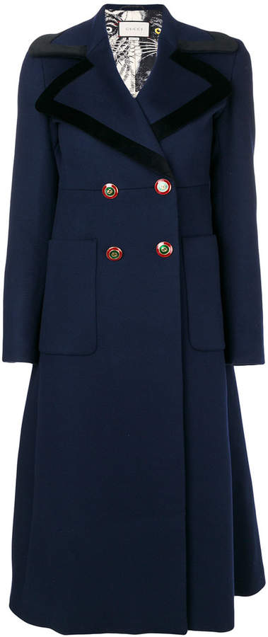 Gucci double breasted frock coat