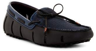 Swims Lace Loafer Driver $185 thestylecure.com