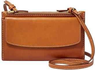 Fossil Sage Leather Crossbody Bag