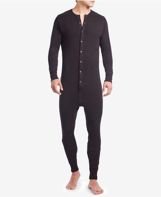 2xist Men's Cotton Jumpsuit Pajamas
