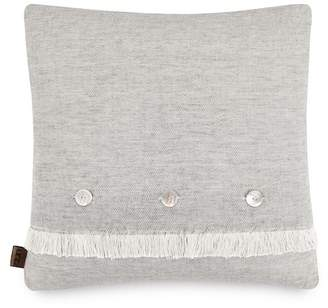 "UGG Jayden Reversible Pillow - Charcoal/Snow - 20""x20\"""