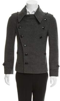Balenciaga Double-Breasted Wool Jacket