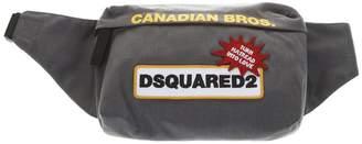 DSQUARED2 Gray Nylon Belt Bag
