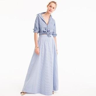 Seersucker ball skirt $188 thestylecure.com