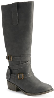 Candie's® Girls' Tall Western Riding Boots $69.99 thestylecure.com