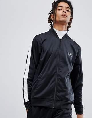 Obey Borstal Track Jacket In Black