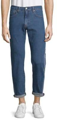 Levi's Premium Buzzer Beater Hi-Ball Roll Striped Jeans