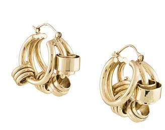 Ellery chunky hoop earrings
