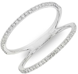 Women's Bony Levy Diamond Two Bar Ring (Nordstrom Exclusive) $1,350 thestylecure.com