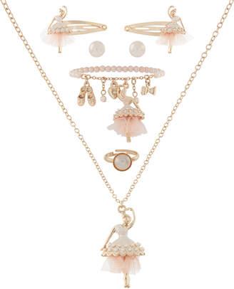 Monsoon Pearlised Ballerina Jewellery Set