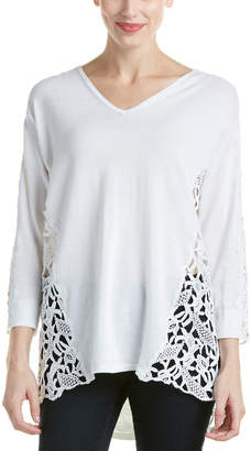 Magaschoni Lace Pullover