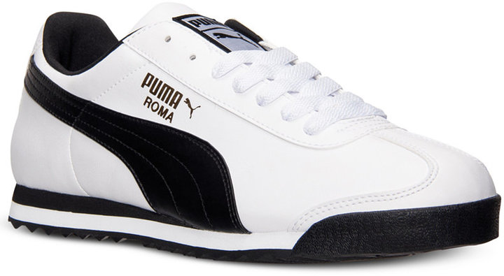 Puma Men's Roma Basic Casual Sneakers from Finish Line