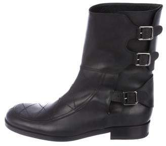 Laurence Dacade Leather Mid-Calf Boots w/ Tags