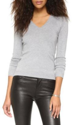525 America V-Neck Knit Sweater $60 thestylecure.com