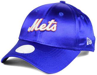 New Era Women's New York Mets Satin Team Charmer 9FORTY Strapback Cap
