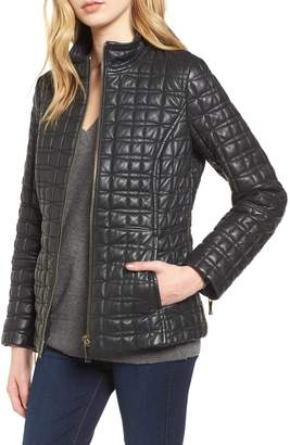Kate Spade Quilted Leather Jacket