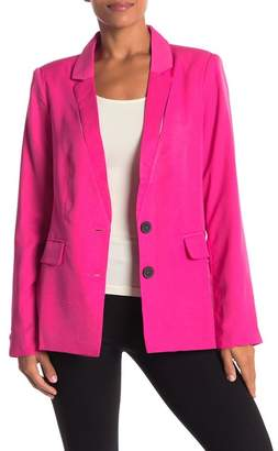 Lush Split Detailed Blazer