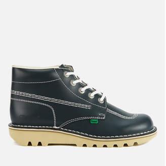 Kickers Men's Kick Hi Leather Boots - Navy