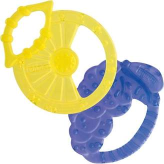 Chicco Lemon & Grape Shapes Silicone Teethers 2M+