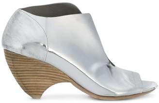 Marsèll curved heel open toe pumps