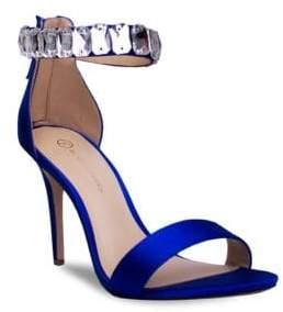 Judith Leiber Jl By Mackenzie Ankle-Strap Stilettos