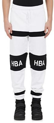 Hood by Air HOOD BY AIR MEN'S LOGO JOGGER PANTS-BLACK, WHITE SIZE XS $495 thestylecure.com