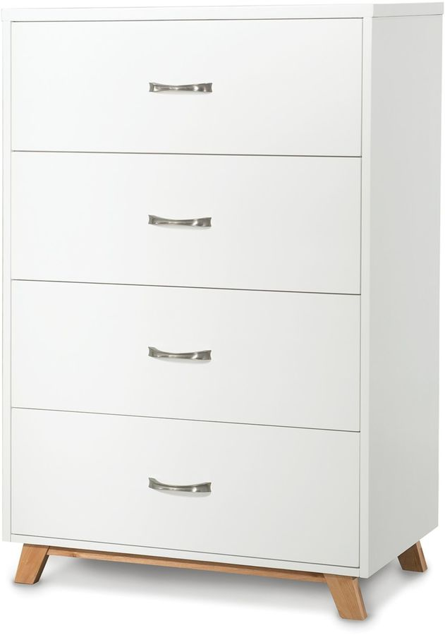 Child Craft Child CraftTM SOHO 4-Drawer Chest in White/Natural