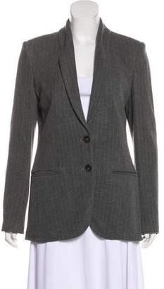Jean Paul Gaultier Pinstripe Jersey Blazer w/ Tags