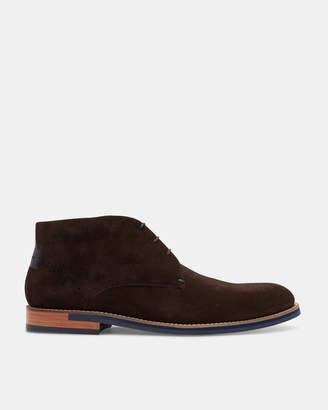 Ted Baker DAIIINO Suede desert boots