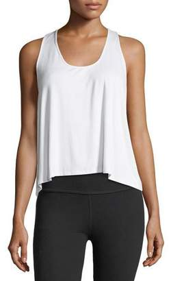 Terez Scoop-Neck Racerback Flare Body Tank