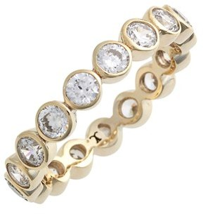 Women's Judith Jack Stackable Cubic Zirconia Bezel Ring $60 thestylecure.com