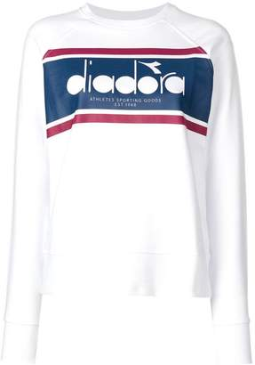 Diadora logo panel sweatshirt