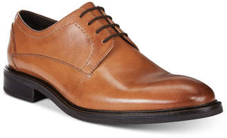 Alfani Men's Greg Leather Plain Toe Derbys, Only at Macy's $99.99 thestylecure.com