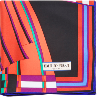 Emilio Pucci Printed Scarf $420 thestylecure.com