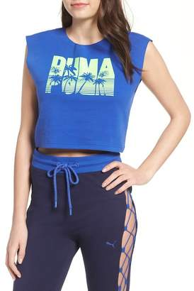 Puma FENTY by Rihanna Logo Crop Top