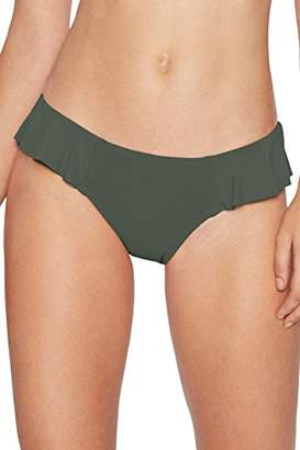 Robin Piccone Women's Lina Side Ruffle Bikini Bottom