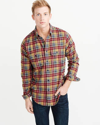 Abercrombie & Fitch Flannel Shirt