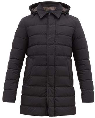 Herno Polar Tech Quilted Coat - Mens - Charcoal